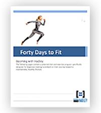 Hadley Allen's 40 Days to Fitness ebook cover image